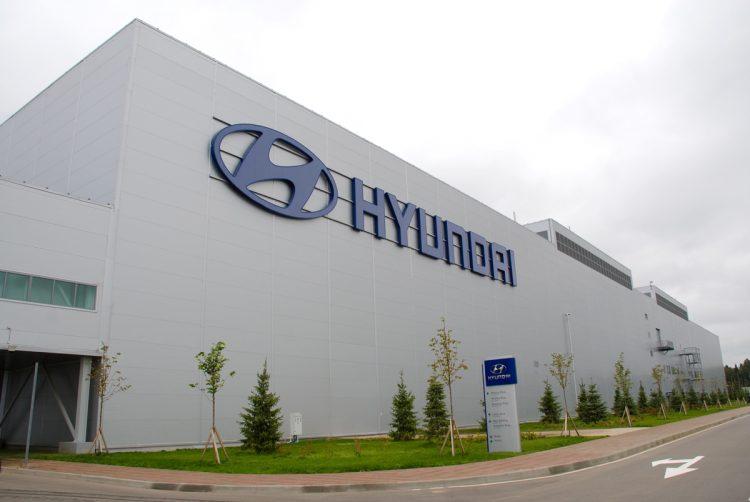 Завод Hyundai в Санкт-Петербурге