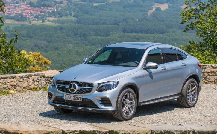Mercedes-Benz GLC 300 4MATIC Coupe 2016-2017 года