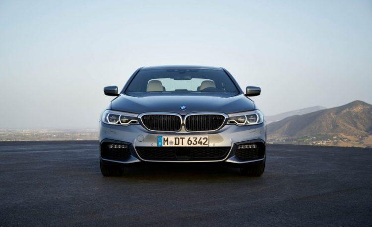 BMW 5 series 2017 модельного года