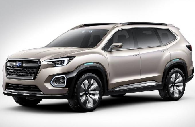 Subaru Viziv-7 SUV Concept: безоблачный «Атлас»