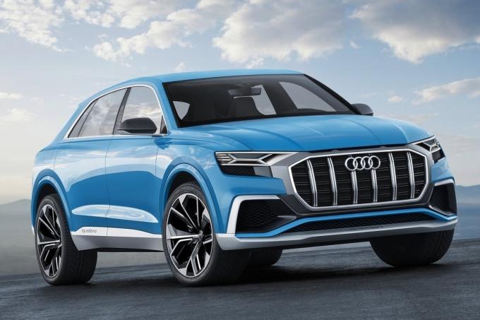 Audi Q8 Concept: Голубая вода