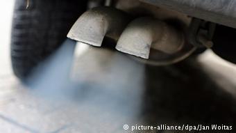 Выхлопы дизельного автомобиля