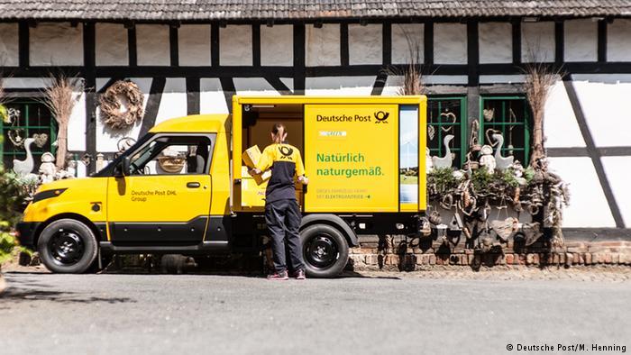 Автомобиль StreetScooter немецкой почты