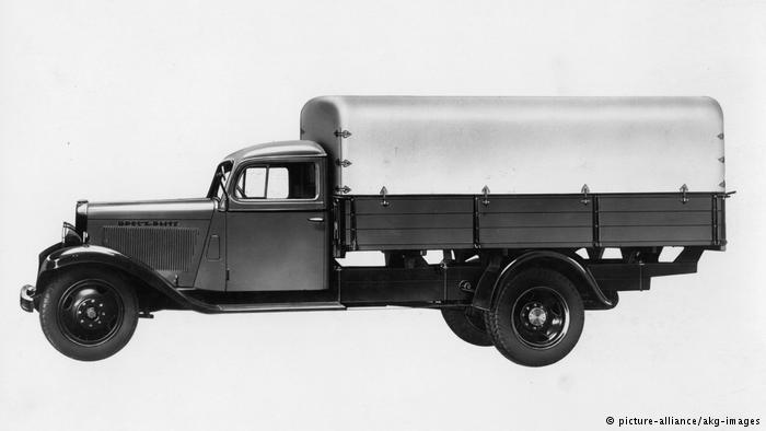 Модель Opel Blitz 1935 года