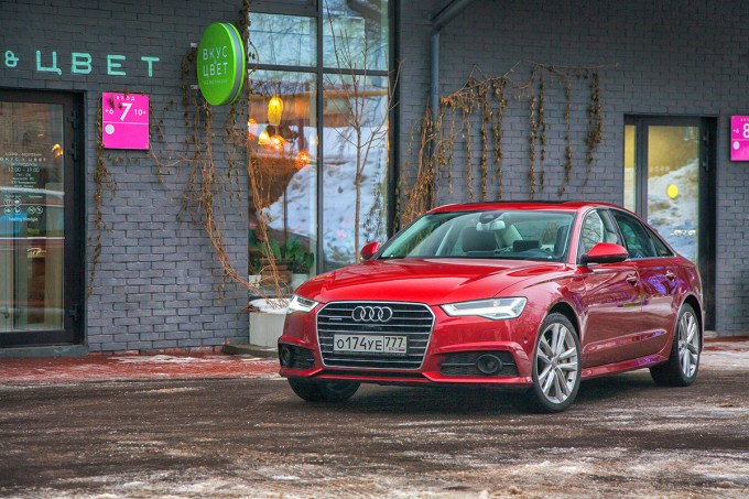 Audi A6 restyled