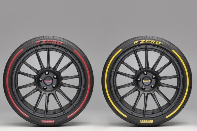 Цветная резина от Pirelli