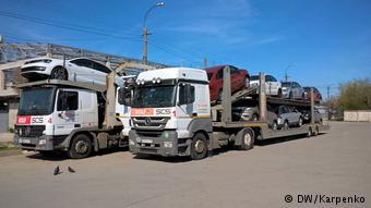 Два автовоза в Крыму