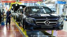 Deutschland gute Konjunktur trotz VW Skandal Symbolbild