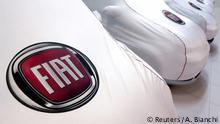 Italien Fiat Autos in Rom