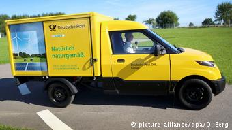 Коммерческие электромобили Deutsche Post собственного производства