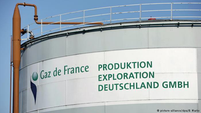 Газохранилище компании Gaz de France