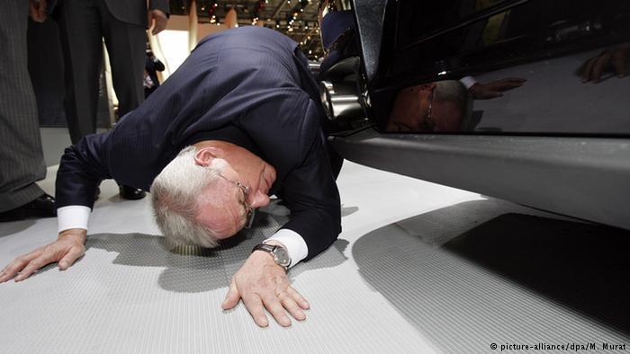 Мартин Винтеркорн, бывший глава Volkswagen