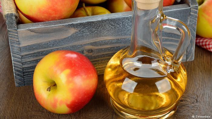 Вода с яблочным уксусом