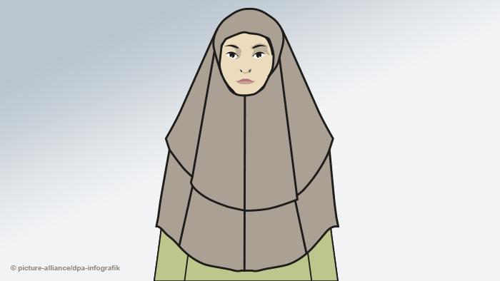 Женщина в химаре
