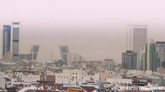 Смог над Мадридом