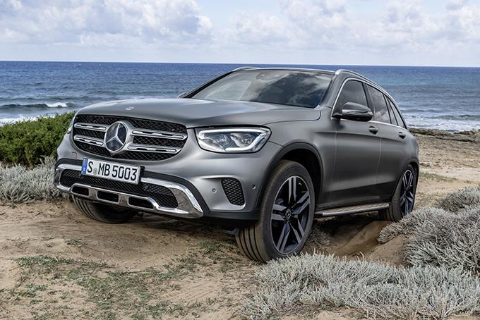 Mercedes-Benz GLC restyled