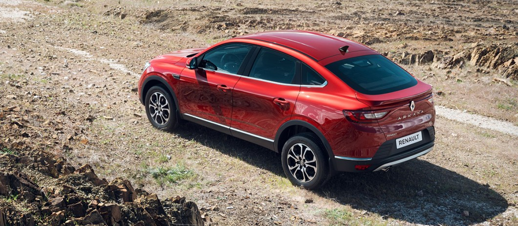 Renault Arkana: Внешний вид