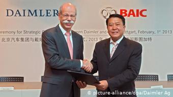 Daimler покупает акции компании BAIC