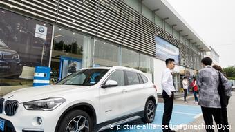 Автосалон BMW в китайском Шанхае