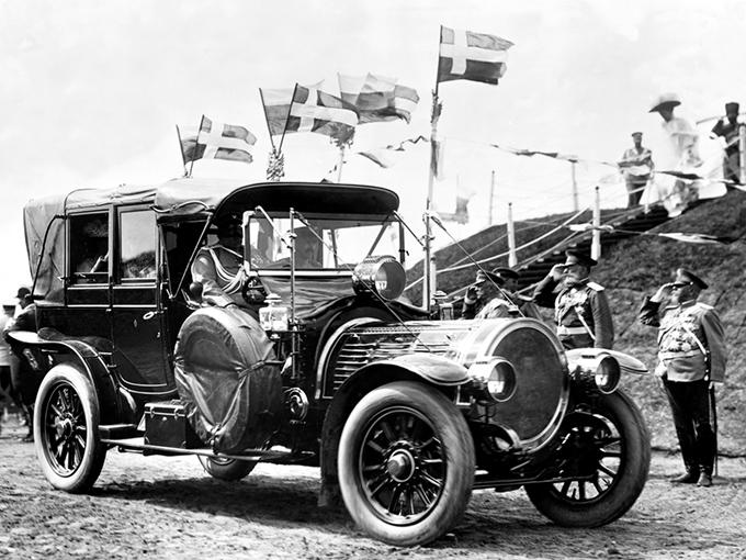 Delaunnay-Belleville-70 S.M.T, 1909 год