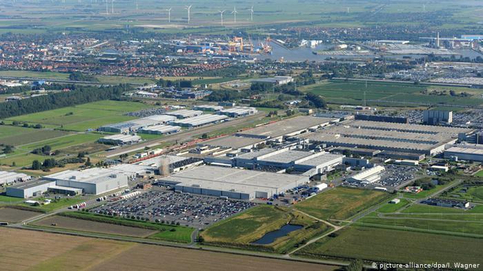 Завод Volkswagen в Эмдене