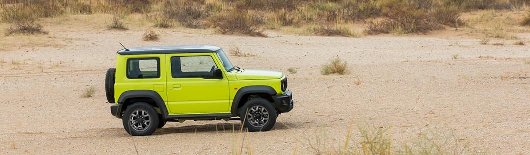 Новый Suzuki Jimny