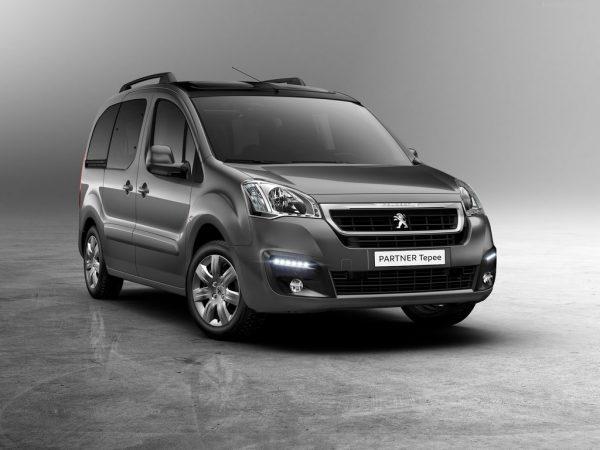Peugeot Partner Tepee 2016-2017 года