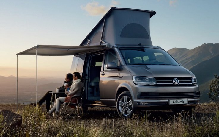 Технические характеристики Volkswagen California Минивэн 2016-2017 года