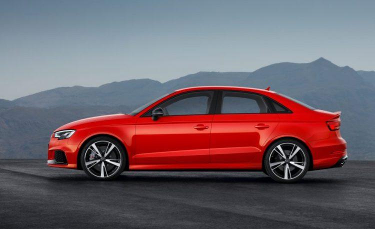 Седан Audi RS3 2017-2017 сделан с прицелом на рынок США и Китая
