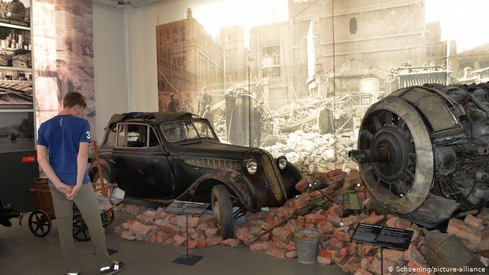 В экспозиции музея Айзенахский автомобильный мир