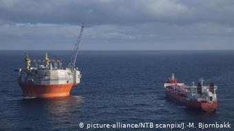 Добыча нефти в Баренцевом море
