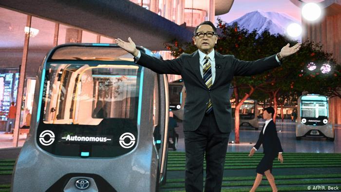 USA PK Toyota - Woven City   Akio Toyoda (AFP/R. Beck)