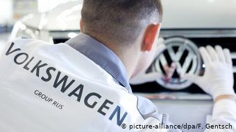 Производство легковых машин VW на заводе Volkswagen в Калуге