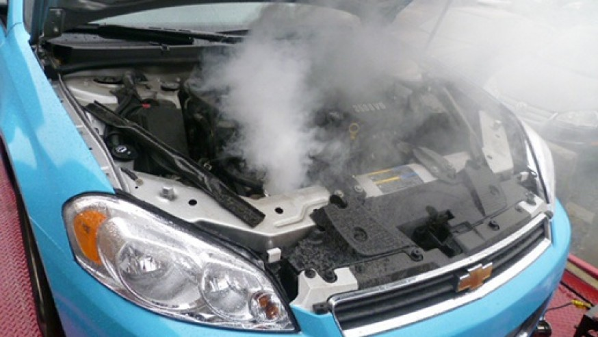 REASON YOUR VEHICLE OVERHEATS WHILE IDLING