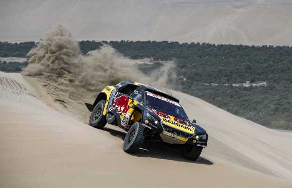 Dakar 2019: Loeb gets his own back as Al Attiyah extends the lead