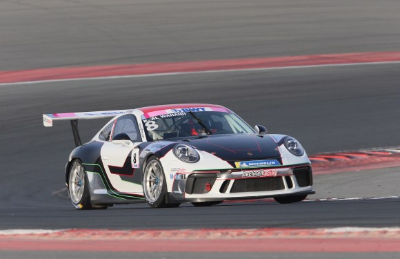 OMAN'S AL-ZUBAIR HEADS TO ABU DHABI WITH  41-POINT LEAD IN PORSCHE BWT GT3 CUP CHALLENGE