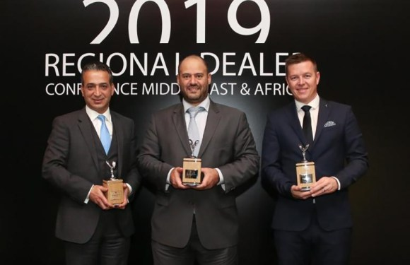 ALI ALGHANIM & SONS AUTOMOTIVE COMPANY WINS THREE TOP TITLES AT ROLLS-ROYCE REGIONAL DEALER CONFERENCE