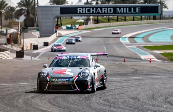 OMAN'S AL-ZUBAIR EDGES EVER CLOSER TO SECOND SUCCESSIVE PORSCHE  BWT GT3 CUP CHALLENGE TITLE WITH VICTORY IN ABU DHABI