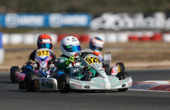 Hamza Al Fayez has his European kart debut  in Valencia Winter Cup