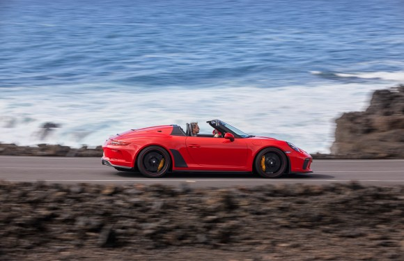 New 911 Speedster goes into production as limited edition