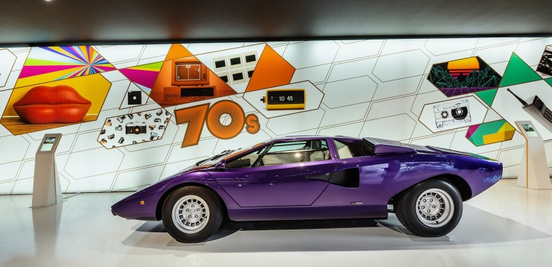 Lamborghini launches the new Museum of Technology – MUDETEC