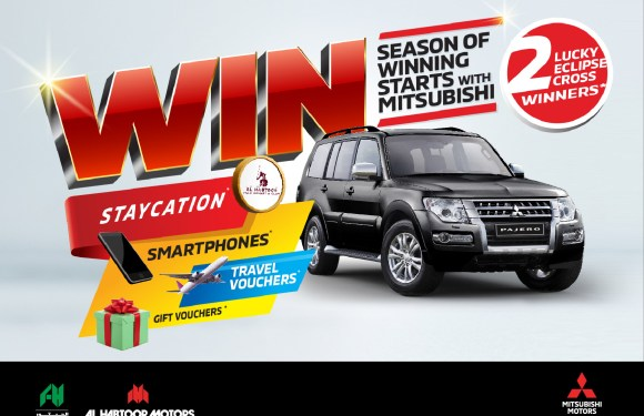 Al Habtoor Motors presents an incredible  'Season of Winning' with Mitsubishi
