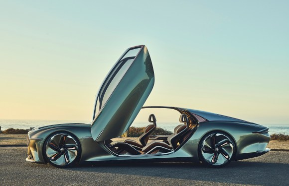BENTLEY EXP 100 GT CROWNED 'MOST BEAUTIFUL CONCEPT CAR OF THE YEAR' AT PRESTIGIOUS FRENCH FESTIVAL AUTOMOBILE INTERNATIONAL