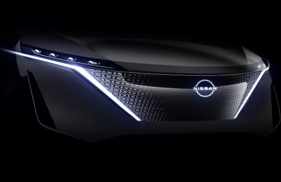 Nissan takes cue from knights, dons shield for future designs