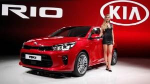 Новый Kia Rio.