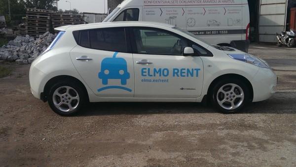 Эле4ктрокар фирмы ELMO Rent.