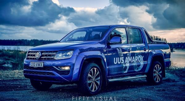 Фото нового Volkswagen Amarok.
