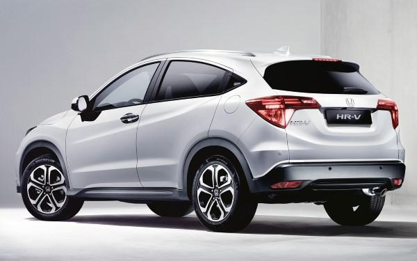 Фото Honda HR-V 2018 года выпуска.