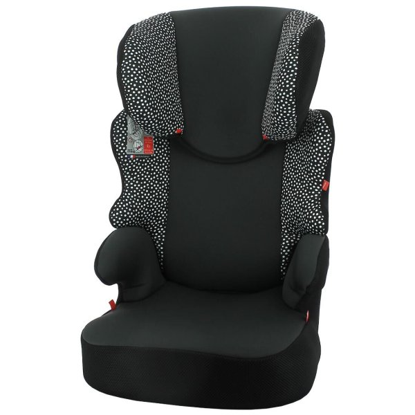 HEMA Autostoel Junior 15-36kg Zwart/witte Stip