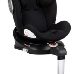 Interbaby autostoeltje Crono junior 94 x 57 cm Isofix zwart